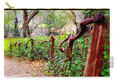 The Crooked Rail - Descanso Gardens Carry-all Pouch