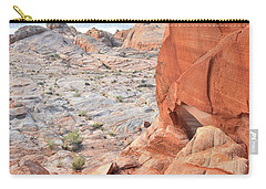 The Wall At Valley Of Fire Carry-all Pouch
