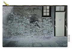 Carry-all Pouch featuring the photograph The Wall by Douglas Stucky