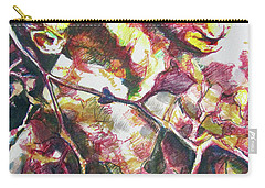 Carry-all Pouch featuring the painting The Warm Breeze Behind The Sun by Rene Capone