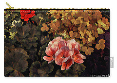 The Warmth Of Summer - Colors In The Garden Carry-all Pouch by Miriam Danar