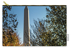 The Washington Monument In Fall Carry-all Pouch