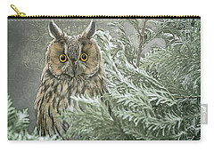 The Watcher In The Mist Carry-all Pouch