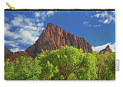 Carry-all Pouch featuring the photograph The Watchman 4 by Raymond Salani III