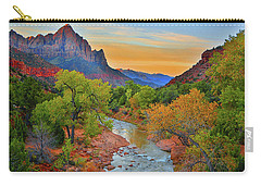 The Watchman And The Virgin River Carry-all Pouch