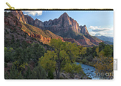 The Watchman And Virgin River Carry-all Pouch