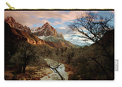 The Watchman At Sunset Carry-all Pouch