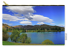 Carry-all Pouch featuring the photograph The Water Beckons by Nareeta Martin
