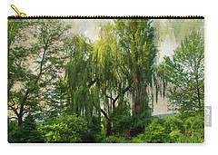 The Water Garden Carry-all Pouch by John Rivera