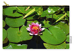 Carry-all Pouch featuring the photograph The Water Lily by Glenn McCarthy