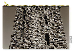 Carry-all Pouch featuring the photograph The Water Tower At Mount Constitution by Lorraine Devon Wilke
