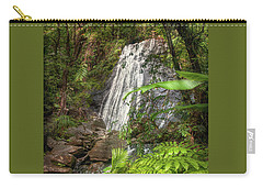 Carry-all Pouch featuring the photograph The Waterfall by Hanny Heim