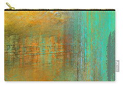 Carry-all Pouch featuring the digital art The Waterfall by Jessica Wright