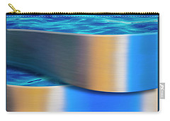Carry-all Pouch featuring the photograph The Waters Edge by Paul Wear