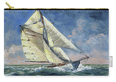 The Wave - Sails 12 Carry-all Pouch by Irek Szelag