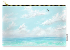 The Waves And Bird Carry-all Pouch