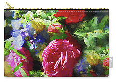 The Wedding Bouquet Carry-all Pouch by Andrea Kollo