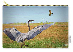 The Wetlands Dance Carry-all Pouch by Judy Kay