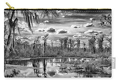 Carry-all Pouch featuring the photograph The Wetlands by Howard Salmon