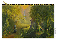 The Whispering Wood Carry-all Pouch