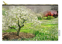 Carry-all Pouch featuring the photograph The White Canopy by Diana Angstadt