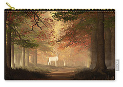 The White Elk Carry-all Pouch by Daniel Eskridge