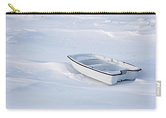 The White Fishing Boat Carry-all Pouch by Nick Mares