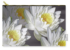 The White Garden Carry-all Pouch