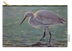 The White Heron Carry-all Pouch
