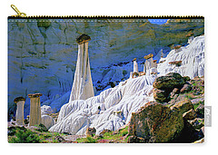 The White Hoodoos Carry-all Pouch