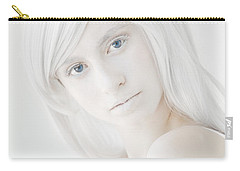 The White Woman Carry-all Pouch by Diane Diederich