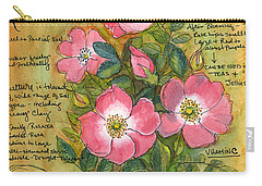 The Wild Rose Carry-all Pouch