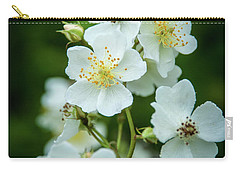 Carry-all Pouch featuring the photograph The Wild Rose by Mark Dodd