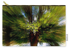 Carry-all Pouch featuring the photograph The Wind by Elfriede Fulda