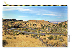 The Winding Road In Central Oregon Carry-all Pouch