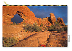 Carry-all Pouch featuring the photograph The Window by Steve Stuller