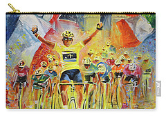 The Winner Of The Tour De France Carry-all Pouch