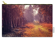 The Winter Path  Carry-all Pouch by Carol Japp