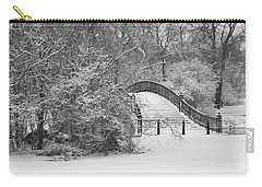 The Winter White Wedding Bridge Carry-all Pouch