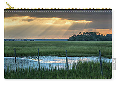 The Wire Fence -  Seabrook Island, Sc Carry-all Pouch