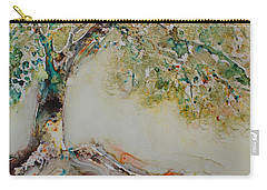 Carry-all Pouch featuring the painting The Wisdom Tree by Joanne Smoley