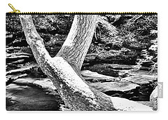 The Wishbone Tree Bw Carry-all Pouch