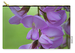 Carry-all Pouch featuring the photograph The Wisteria by Mark Dodd