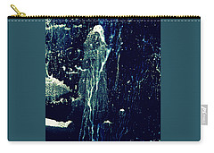 Carry-all Pouch featuring the painting The Wizard by Nancy Kane Chapman