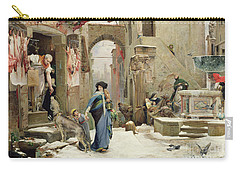 The Wolf Of Gubbio Carry-all Pouch