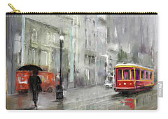 The Woman In The Rain Carry-all Pouch