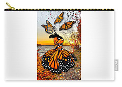 Carry-all Pouch featuring the mixed media The Wonder Of You by Marvin Blaine