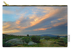 The Wonders Of Sunset Carry-all Pouch by Glenn McCarthy Art and Photography