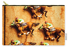 The Wooden Horse Race Carry-all Pouch