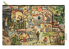 Work Of Art Carry-All Pouches